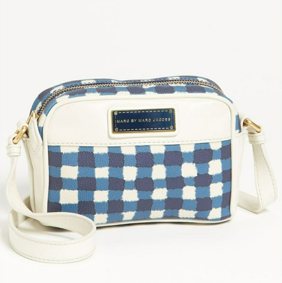 Marc By Marc Jacobs Handbags - Marc by Marc Jacobs Marc'd & Check'd Crossbody